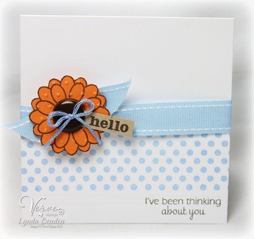 Verve Hello Card