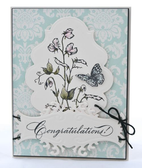 Serendipity Wedding Card